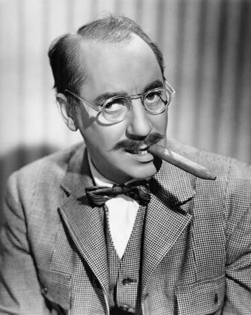 Groucho Marx, funniest stand-up comedians