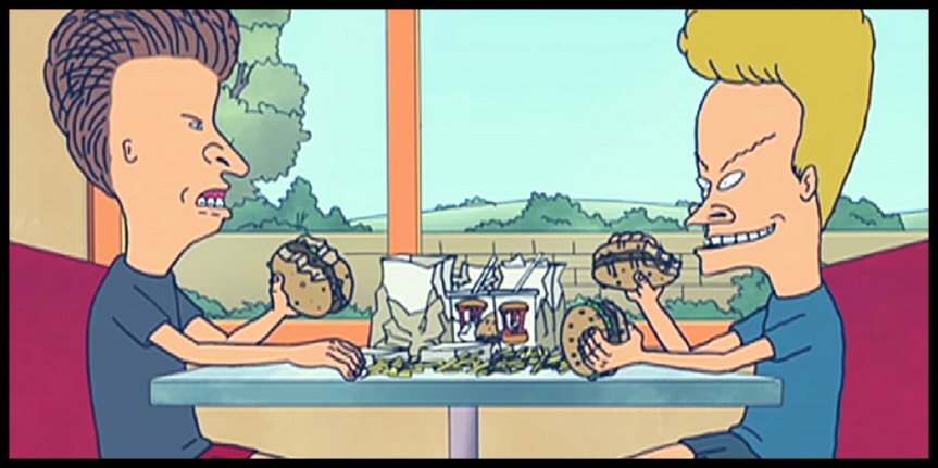 Beavis and Butthead, funniest cartoons for adults,